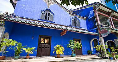 Cheong Fatt Tze Blue Mansion in Penang, Malaysia