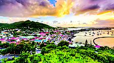 Sunset at Marigot, Philipsburg, St. Maarten
