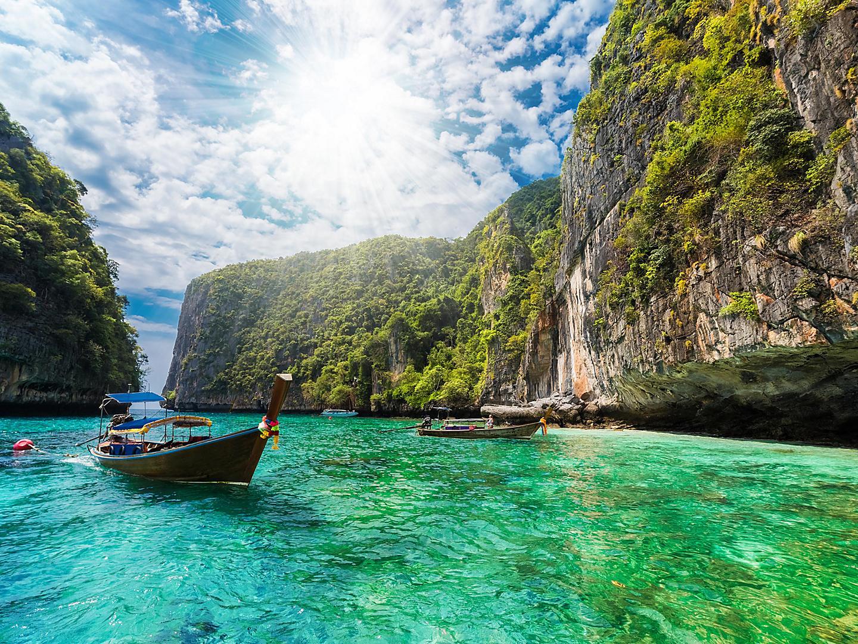 Phuket, Thailand Boat Sea