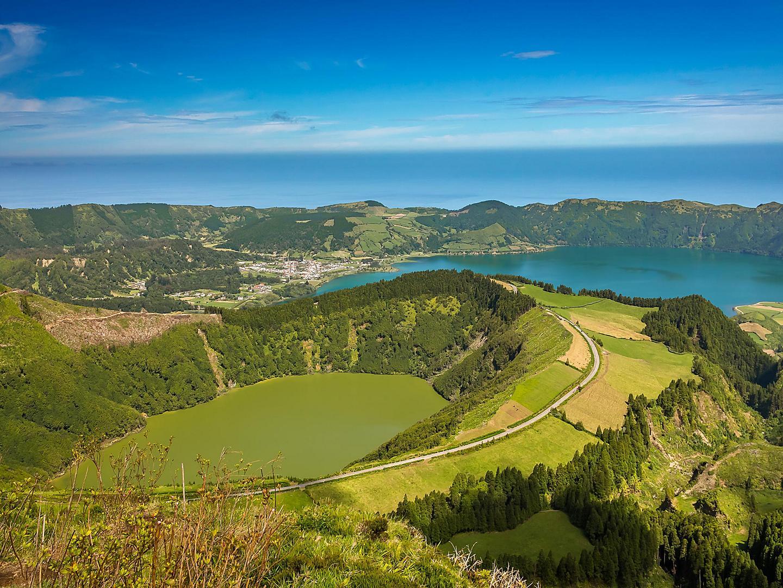 Ponta Delgada, Azores, Sete Cidades Lagoa