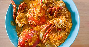 Curried Crab Fry from Port Hedland, Australia