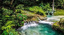 Mele cascades waterfalls at Port Vila, Vanuatu