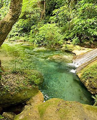 Mele Maat cascades at Port Vila, Vanuatu