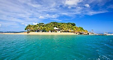 The beautiful tropical Hideaway Island by Port Vila, Vanuatu