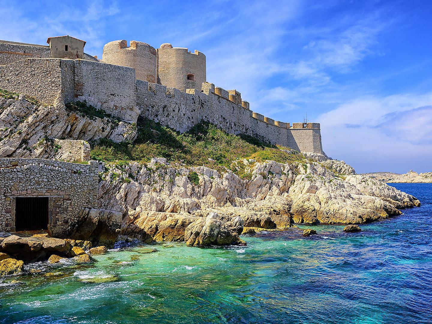 Provence (Marseille), France, Chateau d'If