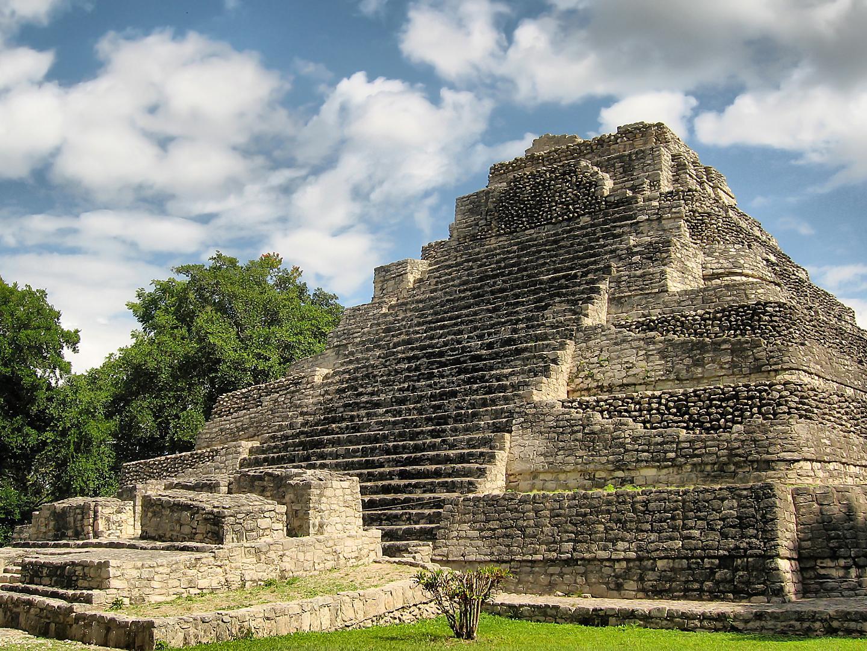 Costa Maya, Mexico, Chacchoben Mayan Ruins