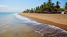 Beach on Puntarenas, Costa Rica