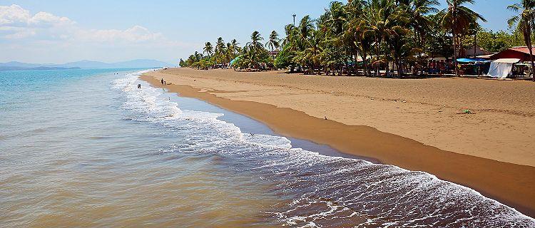 Beach on Puntarenas, Costa Rica