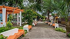 Public square in Puntarenas, Costa Rica
