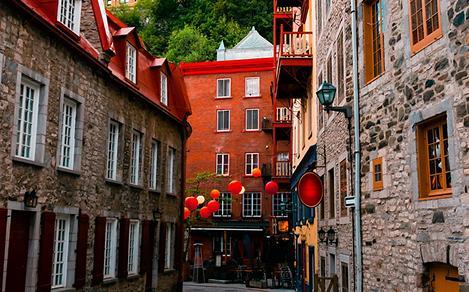 Canada Quebec City Quartier Petit Champlain