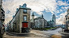 Buildings that demonstrate the architecture of Old Quebec