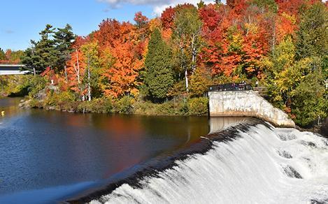 Quebec City Canada Montmorency Falls