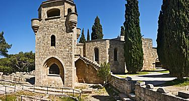 Filerimos monastery in Rhodes, Greece