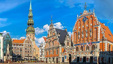 The House of the Blackheads in Riga, Latvia