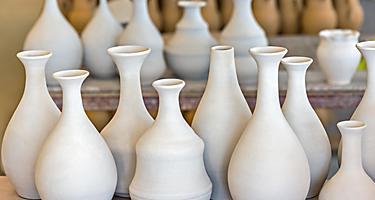 Various ceramic pots