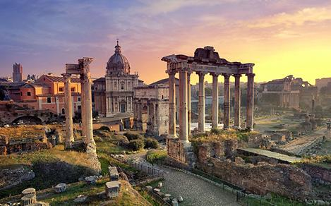 Italy Rome Forums Ancient Temples