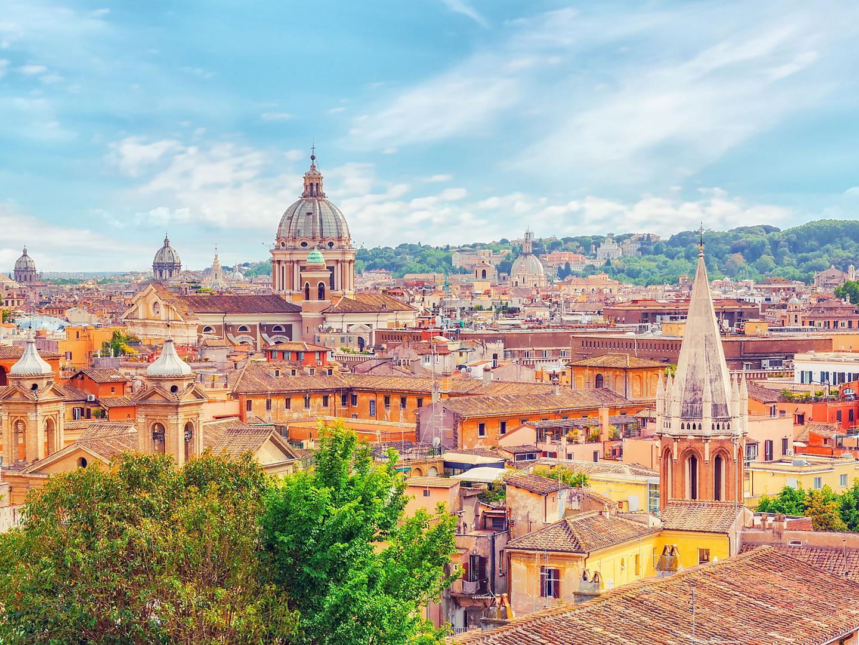 Rome (Civitavecchia), Italy Aerial View