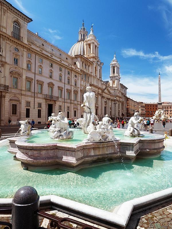 Rome (Civitavecchia), Italy Piazza Navona