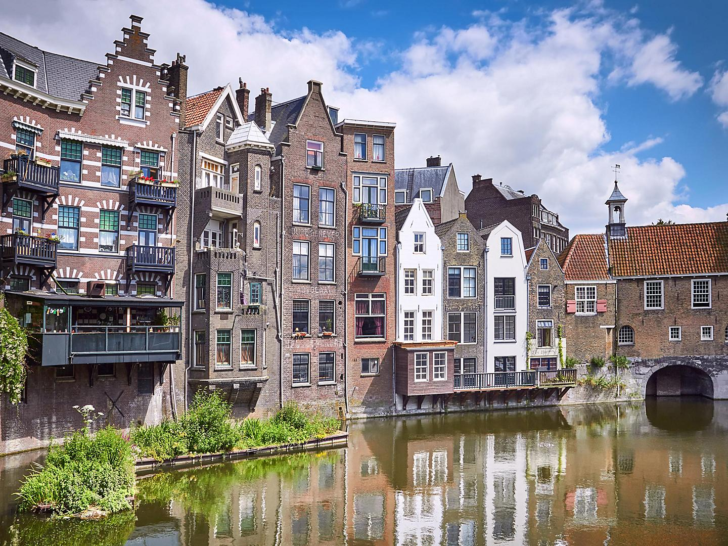 Rotterdam, Netherlands, Delfshaven Historic Center
