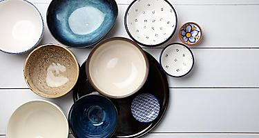 Variaous ceramic bowls for sale in Saguenay, Quebec