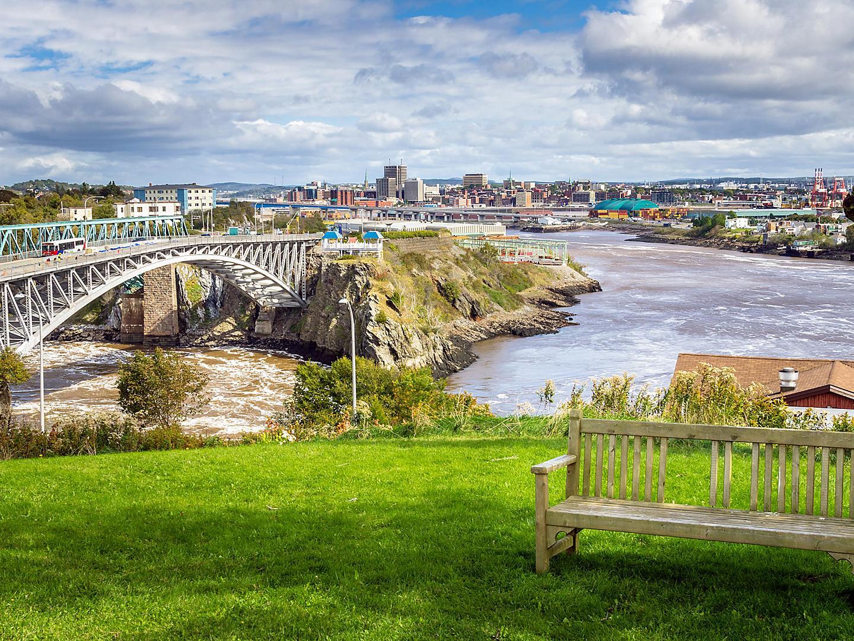 Saint John,New Brunswick, Reversing Falls