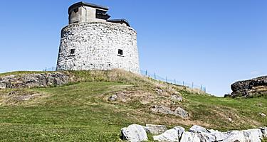 The Carleton Martello Tower in Saint John, New Brunswick