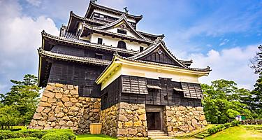 Matsue Castle in Sakaiminato, Japan