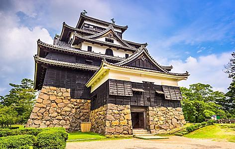 Matsue Castle in Sakaiminato, Japan
