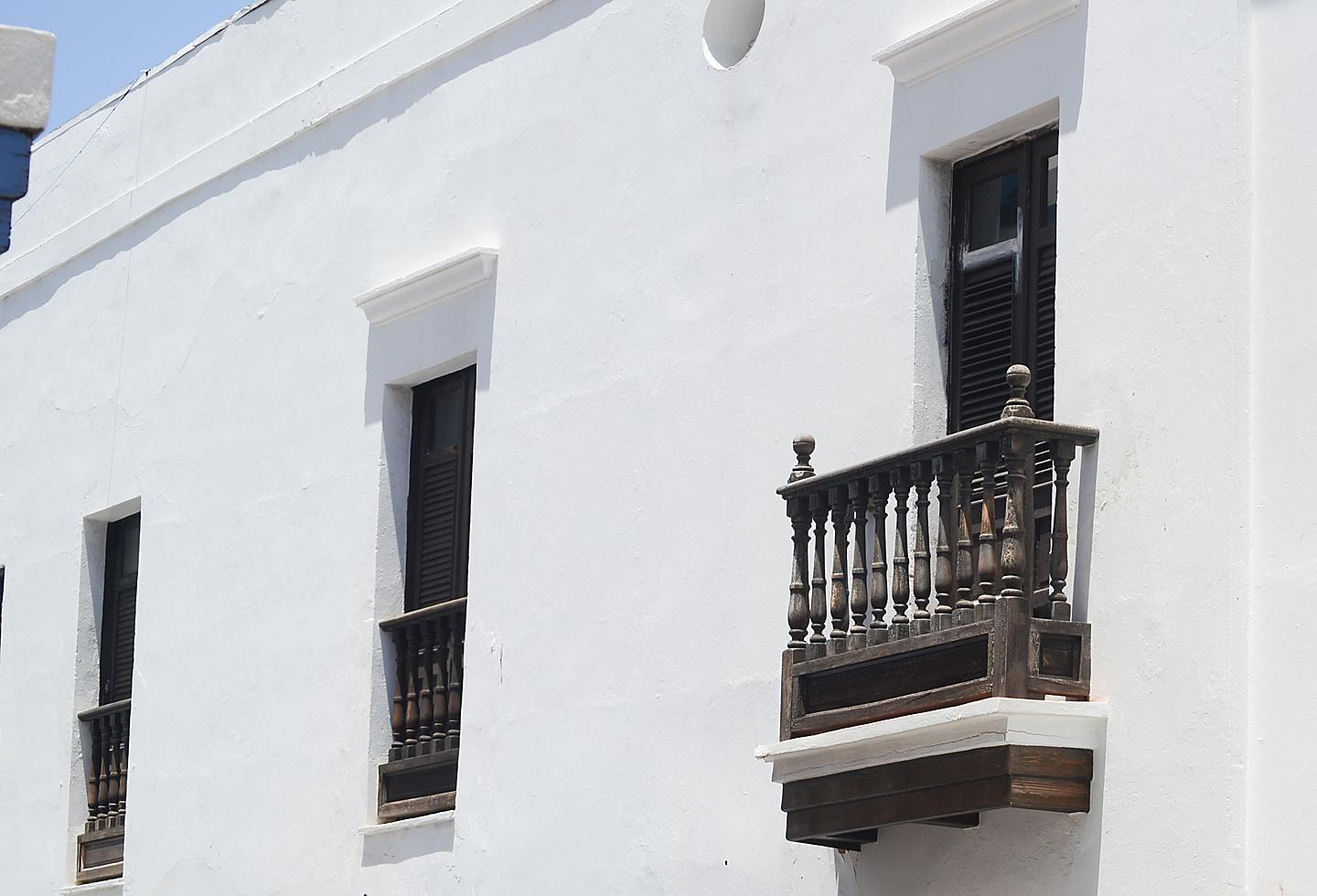 Puerto Rico Casa Blanca Spanish Style Windows
