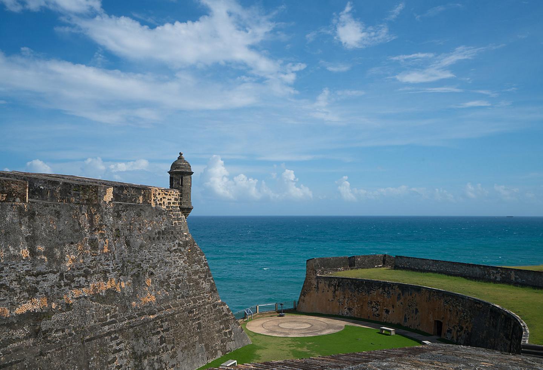 Puerto Rico Castillo San Felipe del Morro During Sunny Day