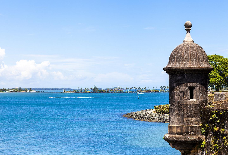 Puerto Rico San Juan El Morro Sunny Day