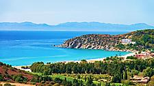 A beautiful coastal landscape in Sardinia
