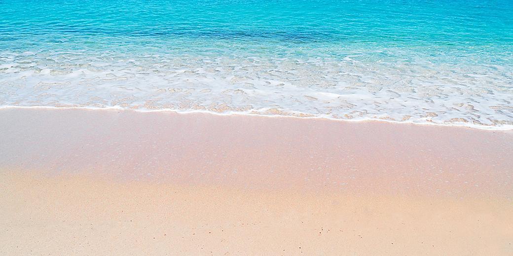 Italy Sardina Spiaggia Rosa Pink Beach