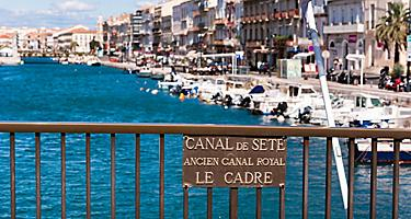The Royal Canal in Sete, France