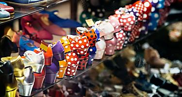 Flamenco shoes for sale in Spain