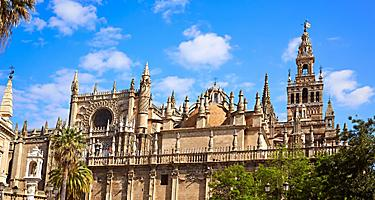 The Seville Cathedral in Seville, Spain