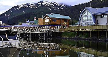 Marine to get to a village in Seward Alaska.