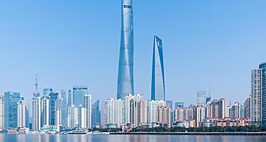 Shanghai Towers and cityscape of Shanghai, China