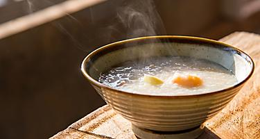 A bowl of Congee in China