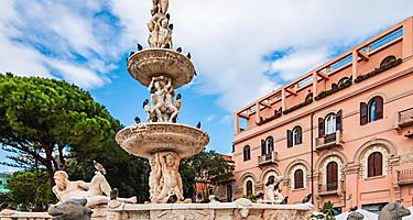 Orions fountain in Sicily (Messina), Italy