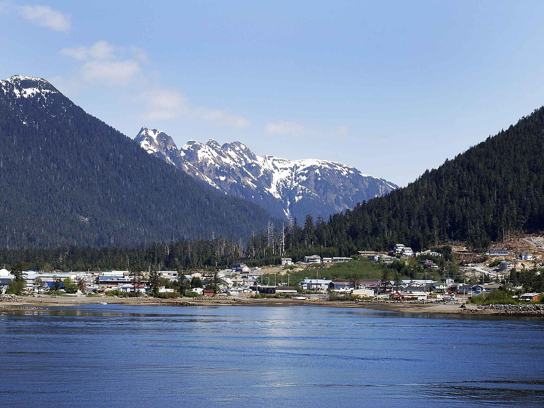 Coastal Town Seascape Views, Sitka, Alaska