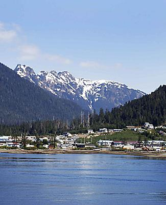 sitka alaska coastal town seascape views