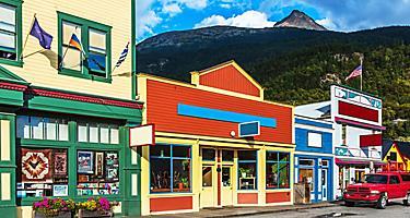 Old Historic Buildings, Skagway, Alaska