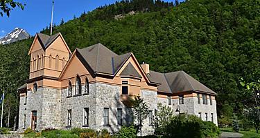 Skagway Alaska historic museum.