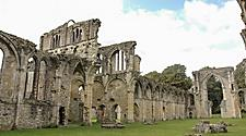 The Netley Abbey ruins in Southampton, England