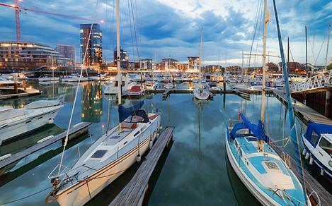 England Southampton Sail Boats
