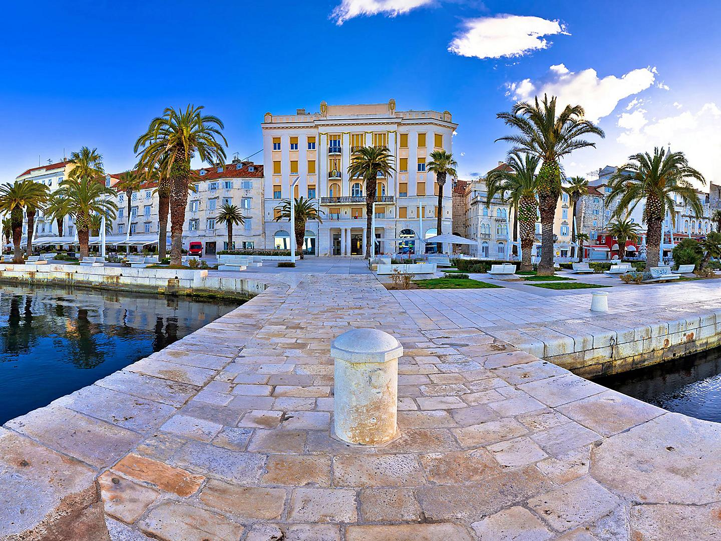 Split, Croatia Waterfront Panoramic
