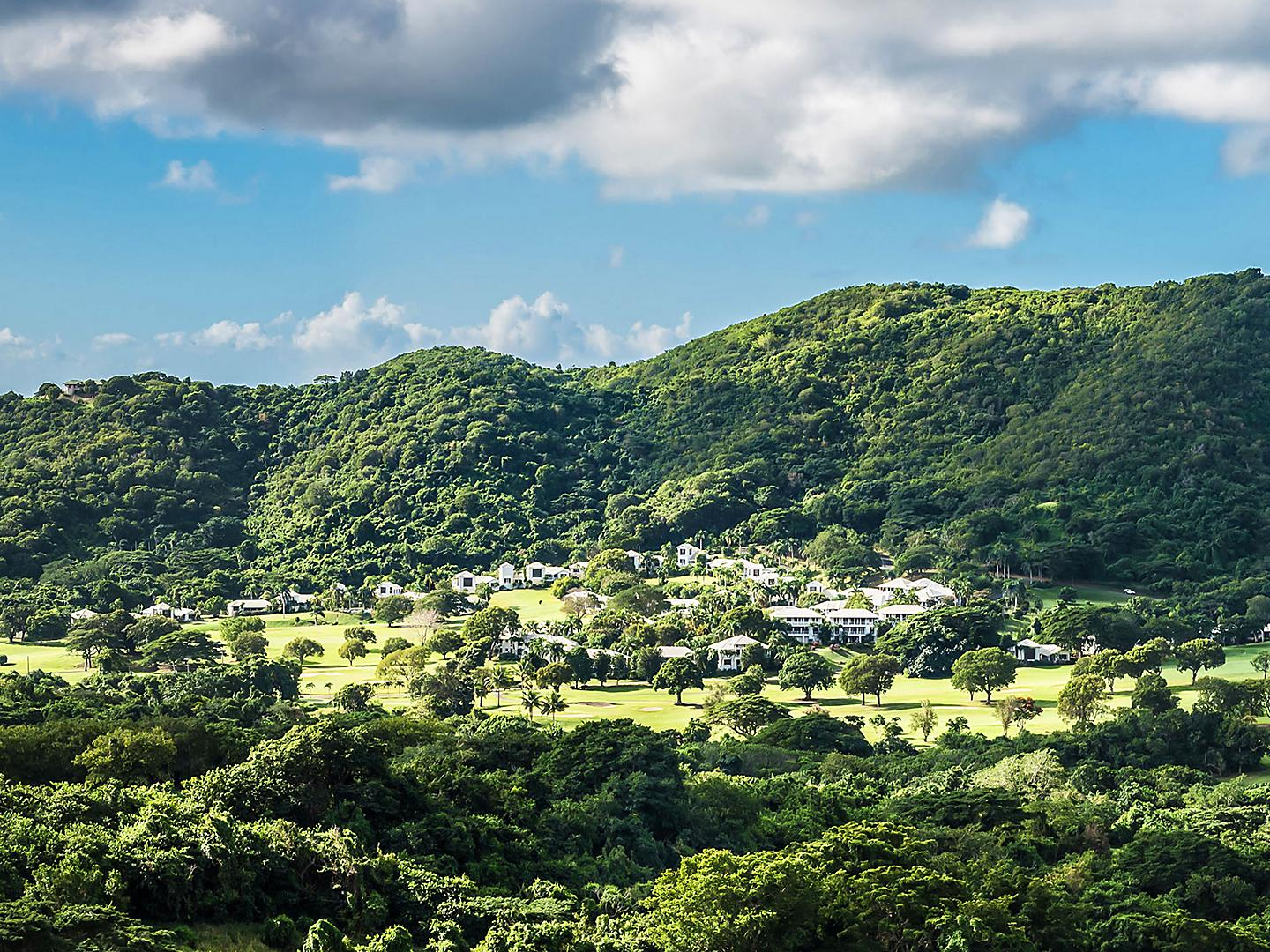 St. Croix, Lush Natural Scenery