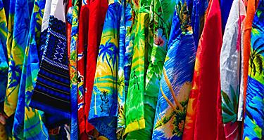 Tropical shirts for sale in the U.S. Virgin Islands