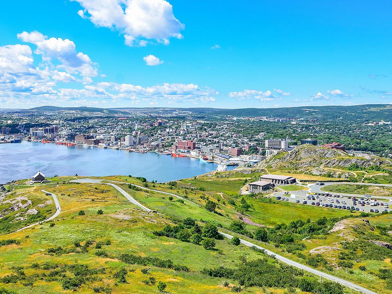 St. John's, Newfoundland, Aerial View